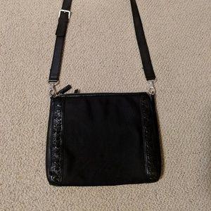 Michael Kors black cross body purse